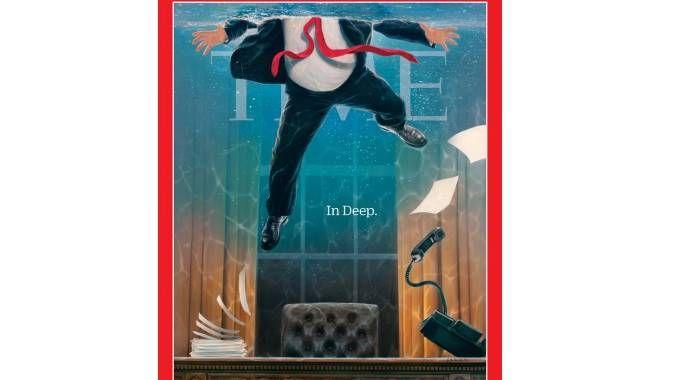 Donald Trump sulla copertina di Time Magazine