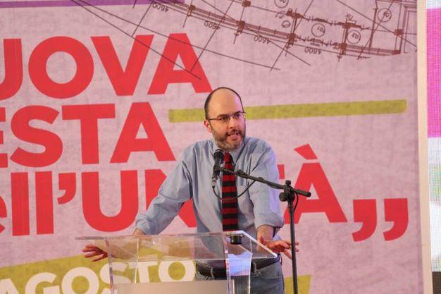 Francesco Critelli sul palco (foto Schicchi)