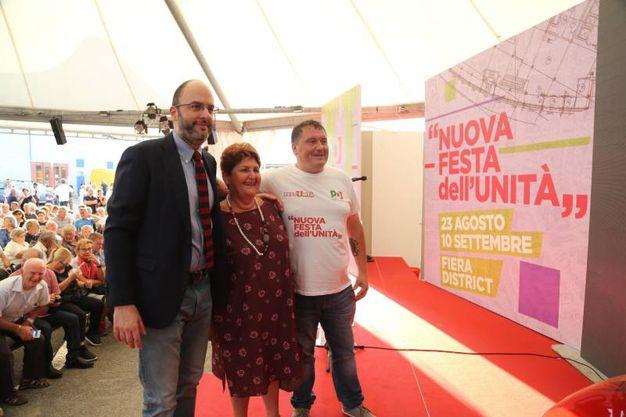 La Festa dell'Unità in Fiera a Bologna (foto Schicchi)
