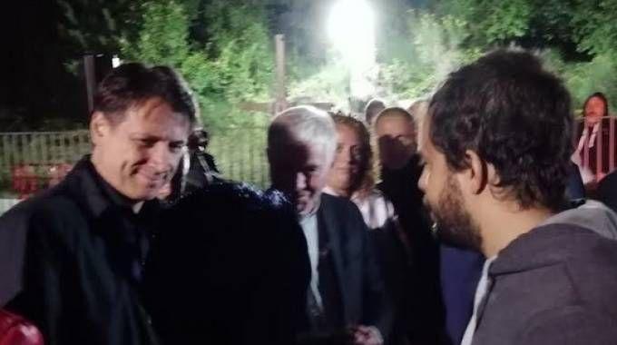 Conte con il padre di Marisol Piermarini (Porfiri)