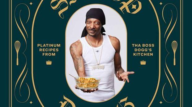 Dettaglio della copertina del ricettario rap di Snopp Dogg - Foto: www.chroniclebooks.com