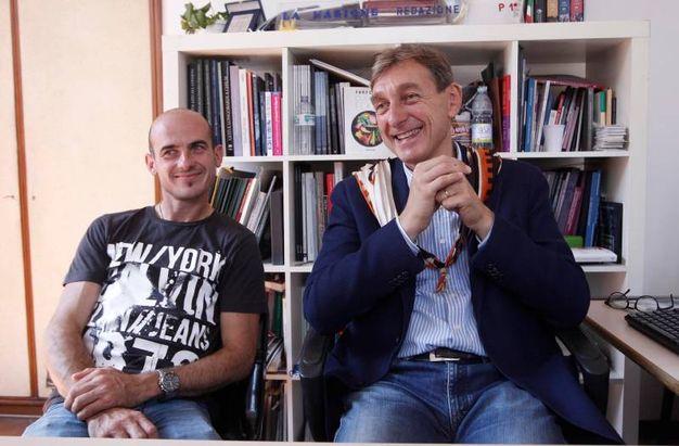 Faccia a faccia a La nazione fra Gingillo e Gragnoli (Foto lazzeroni)