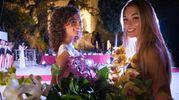 La meraviglia della Rocchetta Mattei, sullo sfondo, ha aggiunto un tocco di eleganza alla serata (Foto Marchi)