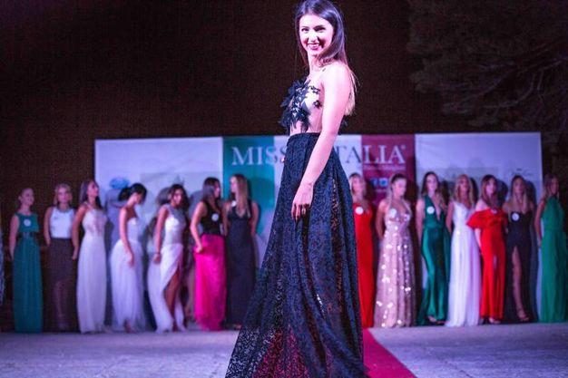 Daniela Dobrin, anche lei nel terzetto delle terze in classifica (Foto Marchi)
