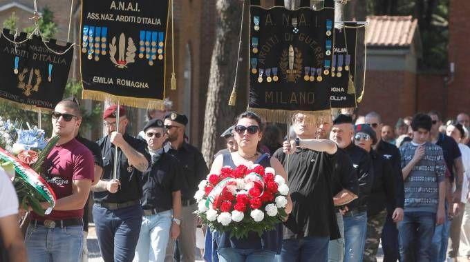 CORTEO Commemorazione per Muti in una foto di alcuni anni fa
