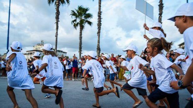 La sfilata di inaugurazione della Coppa Primavela