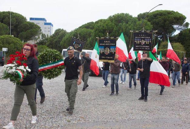La manifestazione (foto Corelli)