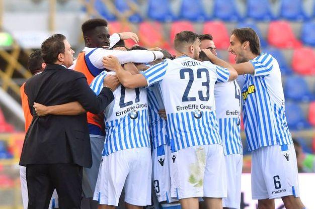 I ragazzi di Semplici vincono il derby contro il Parma grazie ad uno splendido gol di Antenucci (foto LaPresse)