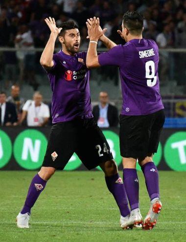 Benassi esulta per il gol (Fotocronache Germogli)