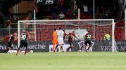 Dopo il primo gol il Foggia trova la rete in altre tre occasioni con Loiacono, Tonucci e Cicerelli (Foto LaPresse)