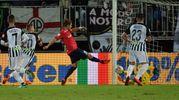 Il Cosenza è passato in vantaggio con un gol di Maniero (Foto LaPresse)