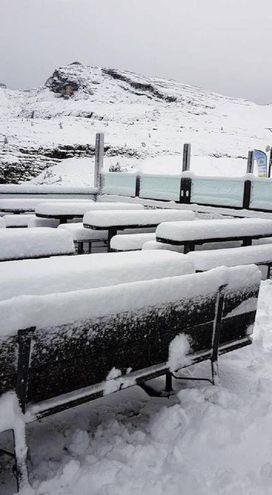 Rifugio Scoiattoli, sopra Cortina d'Ampezzo, Belluno (Ansa)