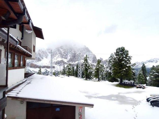 Zona di rifugio Faloria, sopra Cortina d'Ampezzo, Belluno (Ansa)