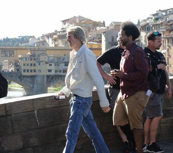 Il regista Michael Bay (Umberto Visintini / New PressPhoto)