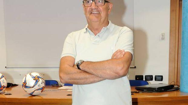 L'allenatore del Legnano Giampiero Erbetta