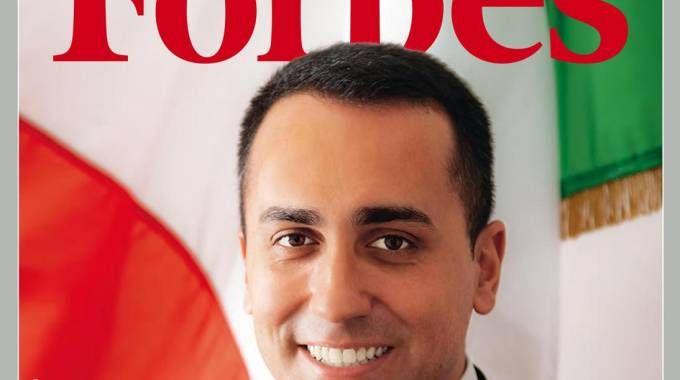 Il vicepremier Luigi Di Maio sulla copertina di Forbes (Ansa)