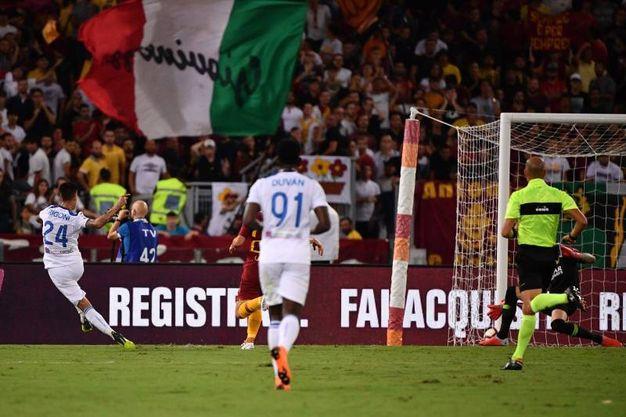 Il secondo gol di Rigoni (Lapresse)