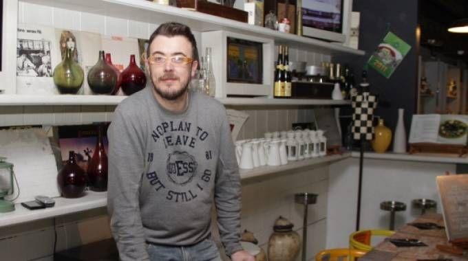 Stefano Ceolin, il gestore del locale a Mestre (QN)