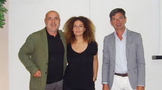 Da sinistra: Alberto Perruzzini, Alessandra De Paola,  Lorenzo Gai