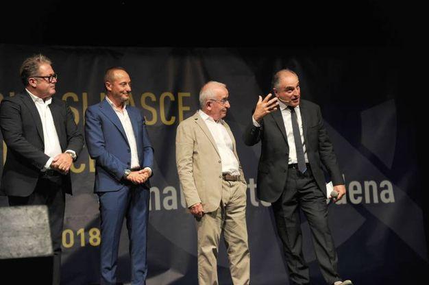 La presentazione del Nuovo Modena calcio ai Giardini Ducali (foto Fiocchi)