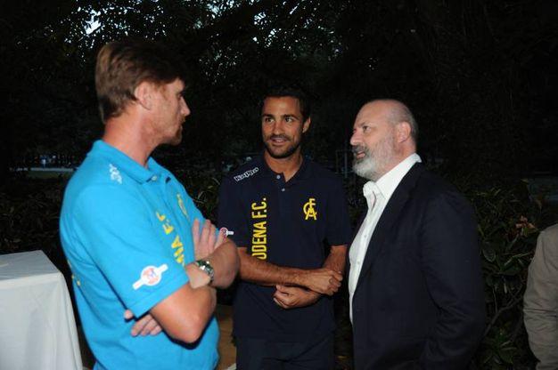 A destra Stefano Bonaccini (foto Fiocchi)