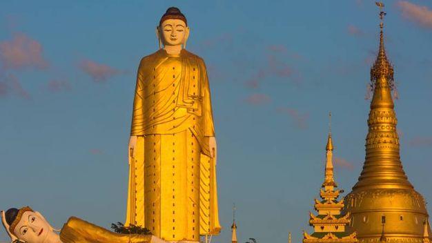 La seconda più alta del mondo:  Laykyun Sekkya, 115,8 metri - Foto: OSTILL/iStock
