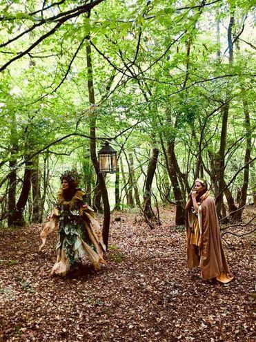 Spettacoli nei boschi