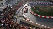 Sebastian Vettel sbatte con la Ferrari (Lapresse)