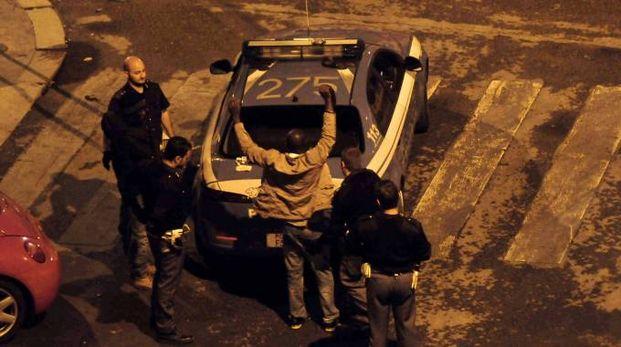 Un arresto della Polizia