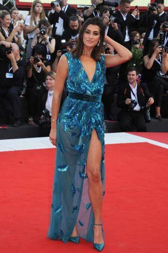 Elisa Isoardi sul red carpet (LaPresse)