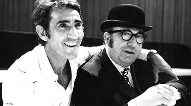 Walter Chiari e Marcello Marchesi