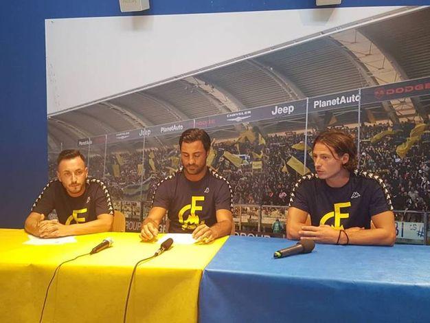 I giocatori Boscolo Papo, Perna e Ferrario