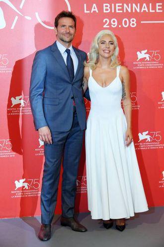 Con Bradley Cooper (LaPresse)
