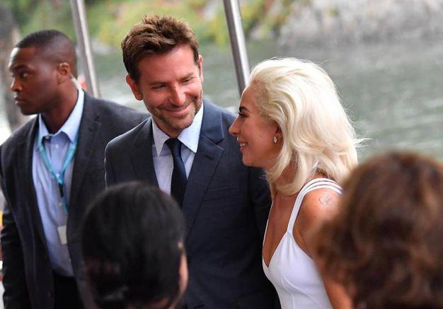 Con Bradley Cooper (Ansa)