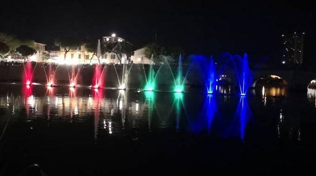 Le fontane danzanti inaugurano la Festa del Borg