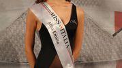 Il titolo di Miss Emilia è stato assegnato ad Anna Mazzali, studentessa di scienze della formazione di Rolo (Re), 20 anni (Foto Marco Isola)