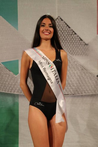 Laura Fregoni, 22enne di Piacenza, Miss Romagna 2018 (Foto Marco Isola)