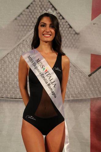 Miss Eleganza Emilia Romagna Federica Guzzardo, 23enne di Modena (Foto Marco Isola)