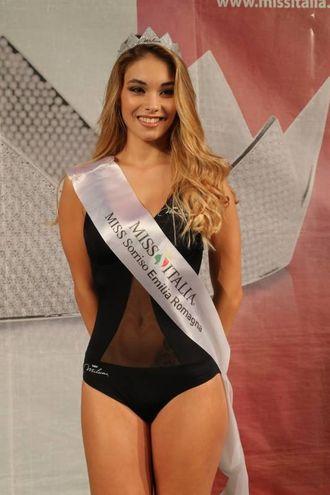 Miss Sorriso Emilia Romagna Jessica Poli, 18 anni di Bologna (Foto Marco Isola)