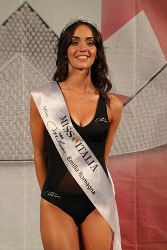 Miss Miluna Emilia Romagna Maeve Billi, 18 anni di Faenza (Foto Marco Isola)