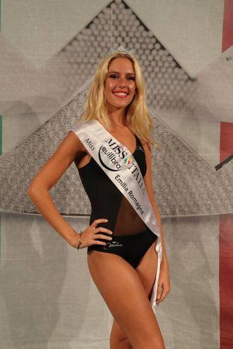 Miss Equilibra Emilia Romagna è Mara Boccacci di Parma 20 anni (Foto Marco Isola)