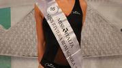 Miss Riviera Romagnola Debora Bastelli di 22 anni di san Pietro in Casale (Foto Marco Isola)