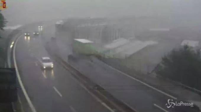 Ponte Morandi Genova, nuovo video del crollo