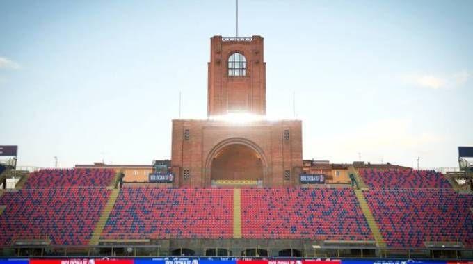 Il Comune è pronto a investire 30 milioni per il restyling del Dall'Ara (Foto d'archivio)