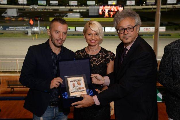 Una delegazione del Cesena Calcio (foto Ravaglia)