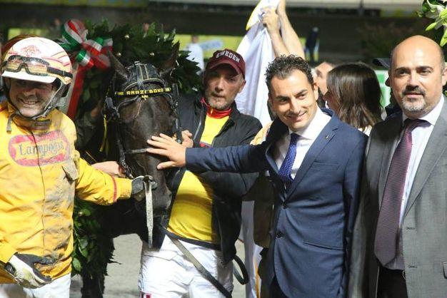 Ha vinto Alessandro Gocciadoro con Arazi Boko (foto Ravaglia)