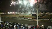 Lo spettacolo finale dei fuochi d'artificio (foto Ravaglia)