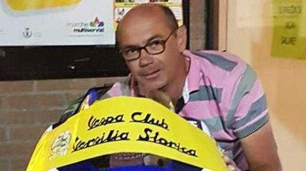 Ademio Morelli viaggiava sempre con la sua storica Vespa Px
