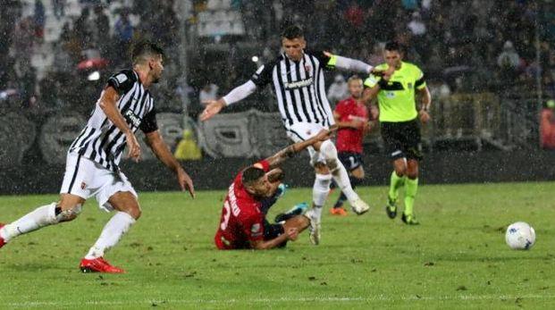 La gara terminata 1-1 contro il Cosenza (Foto LaBolognese)