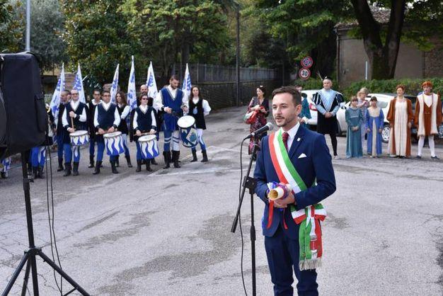 Il sindaco, Gabriele Fratto (foto Frasca)
